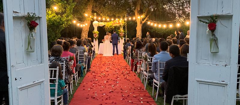 Ceremonias de matrimonio al aire libre, playa, centros de eventos, productora fiesta de matrimonio